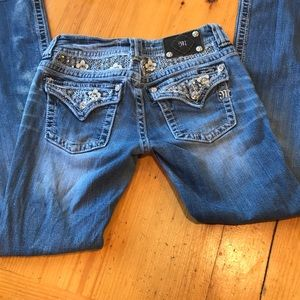 Miss Me embellished jeans bootcut nice condition